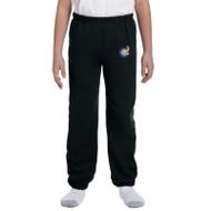 GWP Gildan Youth Heavy Blend Sweatpants - Black (GWP-050-BK)