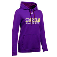 CCV Under Armour Women's Hustle Fleece Hoody - Purple
