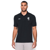 CCV UA Men's Team Armour Performance Polo - Black