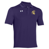 CCV UA Men's Team Armour Performance Polo - Purple