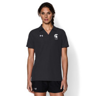 CCV Under Armour Women's Performance Polo - Black