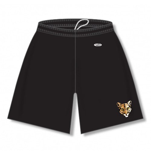 CSS AK Adult Dryflex Solid Shorts w/Pockets - Black