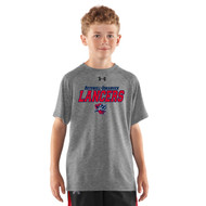 ROD Under Armour Youth Short Sleeve Locker Tee - Grey