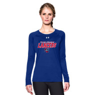 ROD Under Armour Women's Long Sleeve T Shirt - Royal