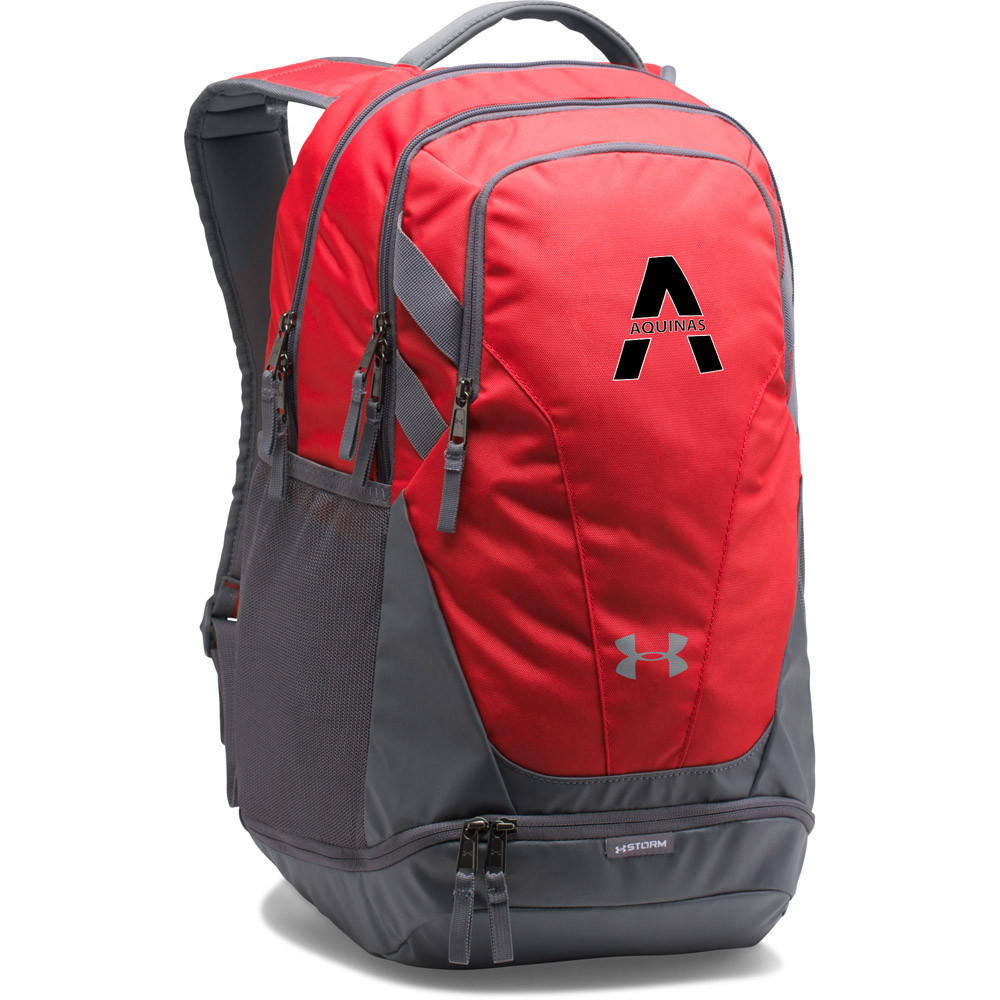 8cf1c9fd2b82 SAQ Under Armour Hustle 3.0 Backpack - Red