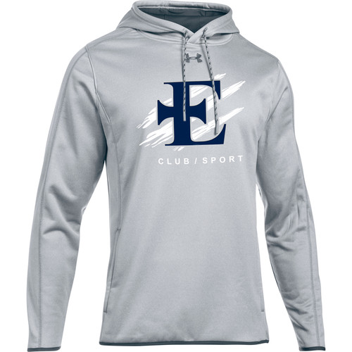 EDN Under Armour Men's Double Threat Fleece Hoody - True Grey (EDN-001-GY)
