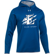 EDN Under Armour Men's Double Threat Fleece Hoody - Royal (EDN-001-RO)