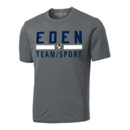 EDN ATC Men's Pro Team Short Sleeve Tee - Coal Grey (EDN-011-CG)