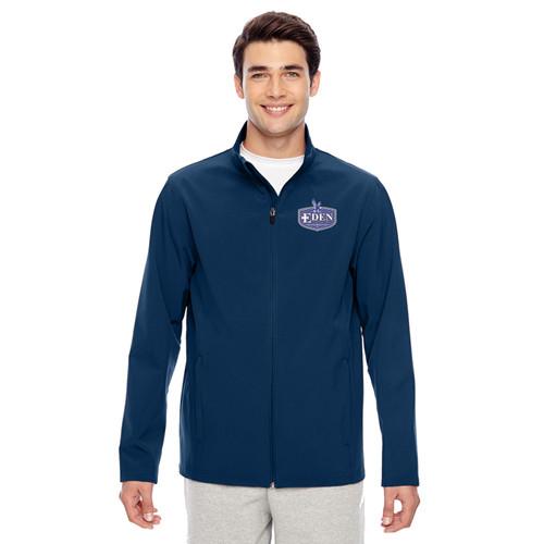 EDN Team 365 Men's Leader Soft Shell Jacket - Navy (EDN-012-NY)