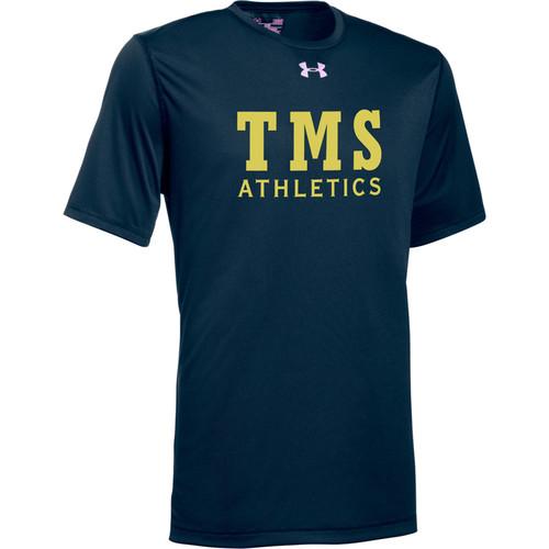 TMS Under Armour Youth Short Sleeve Locker 2.0 Tee - Navy (TMS-041-NY)