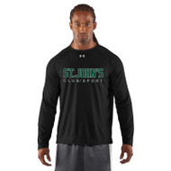 SJC Under Armour Men's Long Sleeve Locker Tee - Balck (SJC-003-BK)