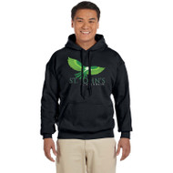 SJC Gildan Adult Heavy Blend Hoody - Black (SJC-015-BK)