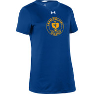 LPC Under Armour Women's Short Sleeve 2.0 Drifit Gym Shirt - Royal Blue (LPC-123-RO)
