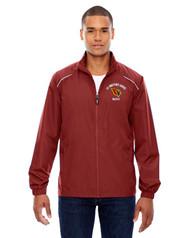 SBA Core 365 Men's Motivate Unlined Lightweight Music Jacket - Red
