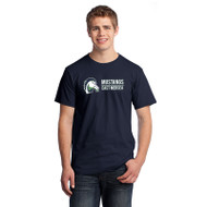 EMP Gilden Men's HD Cotton T-Shirt - Navy (EMP-011-NY)