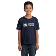 EMP Gilden Youth HD Cotton T-Shirt - Navy (EMP-046-NY)