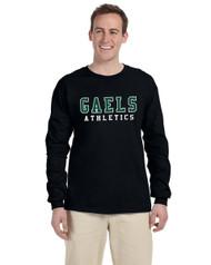 GCVI Gildan G240 Ultra Cotton Long Sleeve T-shirt - Black