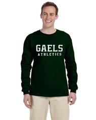 GCVI Gildan G240 Ultra Cotton Long Sleeve T-shirt - Forest