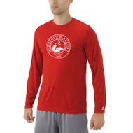 HSS Russell Men's Dri-Power Core Performance Long Sleeve Tee - Red (HSS-013-RE)