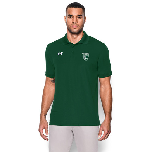 Under Armour Men's Performance Team Polo - Forest Green (LSS-002-FO)