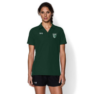 Under Armour Women's Performance Team Polo - Forest Green (LSS-022-FO)