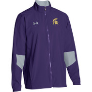 CCV Men's Under Armour Squad Woven Warm-Up Jacket - Purple