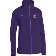 CCV Under Armour Women's Squad Woven Warm-Up Jacket - Purple (CCV-027-PU)