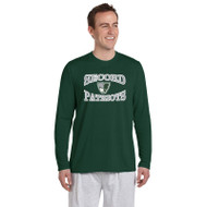 LSS Gildan Men's Long Sleeve Performance Tee - Forest Green (LSS-012-FO)