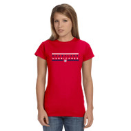 HLS Gildan Women's Softee T-Shirt - Red (HLS-031-RE)