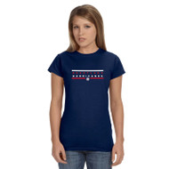 HLS Gildan Women's Softee T-Shirt - Navy (HLS-031-NY)