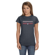 HLS Gildan Women's Softstyle Fitted T-Shirt - Dark Heather (HLS-031-DH)