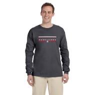 HLS Gildan Men's Ultra Cotton Long Sleeve T-Shirt - Dark Heather (HLS-012-DH)