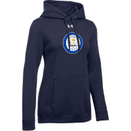 SCS Under Armour Women's Hustle Fleece Hoody - Navy (SCS-021-NY)