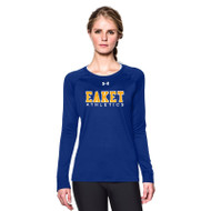 WCE Under Armour Women's Long Sleeve Locker T - Royal (WCE-022-RO)