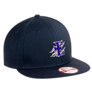 EDN New Era Flat Bill snapback Adjustable Cap - Navy (EDN-052-NY-OS)