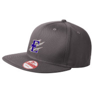 EDN New Era Flat Bill snapback Adjustable Cap - Charcoal (EDN-052-CH-OS)