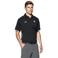 DHS Under Armour Men's Rival Polo - Black (DHS-005-BK)