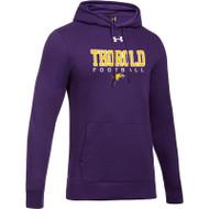 TSS Under Armour Men's Hustle Fleece Hoody - Purple (TSS-001-PU)