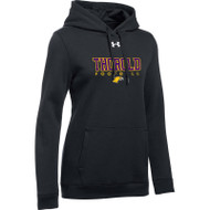 TSS Under Armour Women's Hustle Fleece Hoody - Black (TSS-021-BK)