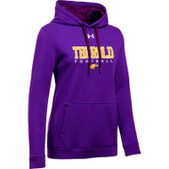 TSS Under Armour Women's Hustle Fleece Hoody - Purple (TSS-021-PU)