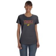 TSS Gildan Women's Cotton T shirt - Charcoal (TSS-033-CH)