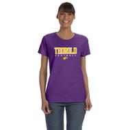 TSS Gildan Women's Cotton T shirt - Purple (TSS-033-PU)