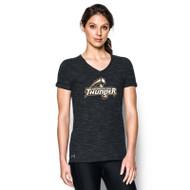 GBS Under Armour Women's Stadium T-Shirt - Black (GBS-022-BK)