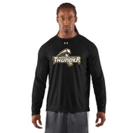 GBS Under Armour Men's Locker Long Sleeve T-Shirt - Black (GBS-003-BK)