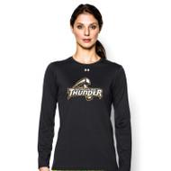 GBS Under Armour Women's Locker Long Sleeve T-Shirt - Black (GBS-023-BK)