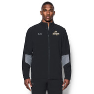 GBS Under Armour Men's Squad Woven Warm-Up Jacket - Black (GBS-004-BK)