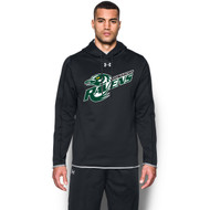 BMR Under Armour Men's Double Threat Fleece Hoody - Black (BMR-103-BK)