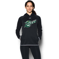 BMR Under Armour Women's Double Threat Fleece Hoody - Black (BMR-223-BK)