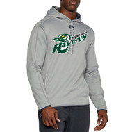 BMR Under Armour Men's Double Threat Fleece Hoody - Grey (BMR-103-GY)