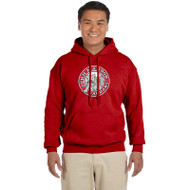 JMS Gildan Heavy Blend Adult Hooded Sweatshirt - Red (JMS-011-RE)